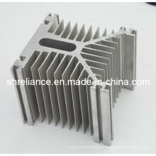 Alumínio / Extrusão de alumínio para dissipador de calor do radiador do diodo emissor de luz