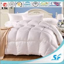 White Goose Duck Down Quilted Comforter