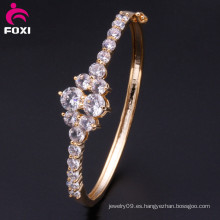 Nuevo diseño de la boda sintética Zirconia Diamante Joyería Pulseras