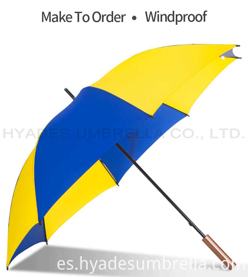 Nylon Manual Open Straight Umbrella Promotional