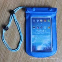 Новый Выдвиженческий прозрачный ПВХ Водонепроницаемый Универсальный мобильный телефон Сумка (YKY7264)