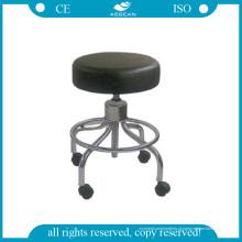 Melhor preço! AG-Ns001 Durable super barato médicos fezes com rodas