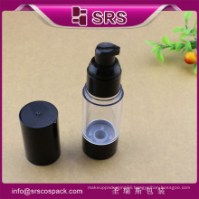 A027 15ml 30ml 50ml AS airless bottle , injection luxury cosmetic bottles