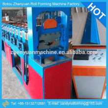 Máquina de fabricação de cume de telhado / painel de telhado rolamento de máquinas de moldagem / equipamento de formação de telhados