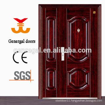 ISO9001 Anti-theft security steel one & half door