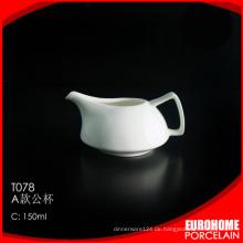 2016 Stil neu Sonderanfertigung elegante weiße Geschirr Milch-Gießer