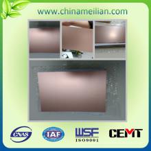 Hoja laminada de cobre eléctrico de alta calidad Fr4