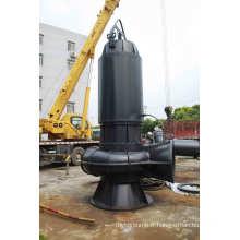 Pompe d'égout verticale de haute qualité pour les eaux usées