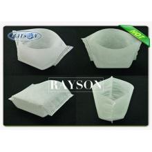 peso personalizado cor branca 30g / m2 não tecido árvore e planta saco, saco de viveiro de plantas