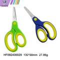 Colorful plastic handle school office stationery scissors