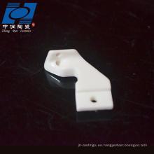 pieza de cerámica de zirconia resistente al desgaste ampliamente utilizada