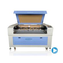 Cortadora del CNC del laser del CO2 de alta velocidad 150w de China