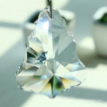 Pingente de cristal de vidro de acessórios de iluminação de árvore de Natal