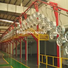 Machine de pulvérisation complète pour Metal Parte