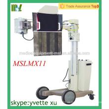MSLMX11-M 50mA Unidad de rayos X de cabecera Unidad de rayos X móvil Unidad de rayos X digital móvil