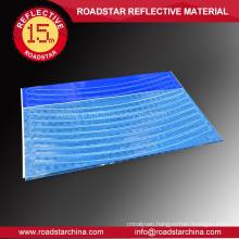 Heat resistant PVC reflector wheel sticker