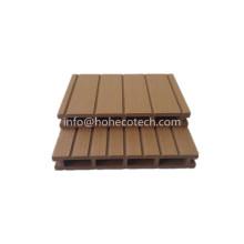 Deck avanzado compuesto de madera del color de WPC 21 * 150 milímetros lijaron la superficie