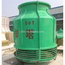 Ahorro de energía FRP counter flow Precio de torre de enfriamiento redondo