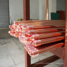 Copper Bonded Ground Rod Electrodes 14.2mm OR 5/8  earth-rod-clamp