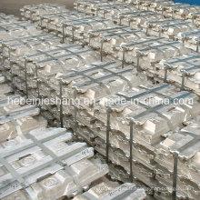 Lingot d'aluminium 99,7% avec certificat d'usine et SGS
