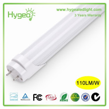 Garantie de 3 ans Tube lumineux à LED Tube jizz CA 85-265V Tube tubulaire Tube LED haute qualité T8