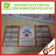 Werbe-Logo gedruckten magnetischen Kalender