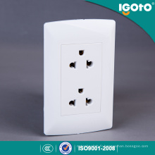 118 * 75mm Pérou Supermarché Universal Twin Receptacle