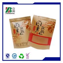 Kundenspezifische bunte PE beschichtete Papier Lebensmittel Verpackung Tasche Zb188