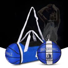 Foldable Duffle Bag with Basket Shape