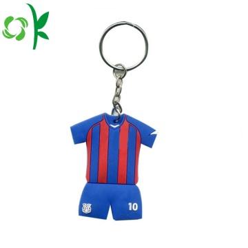 Custom Souvenir Uniforms PVC Silicone Key Accessories