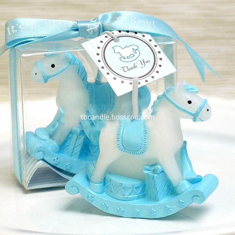 horse shape Birthday art candle