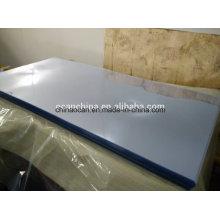 Feuille rigide en plastique transparente de PVC pour la boîte se pliante