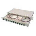 Achat en ligne panneau de raccordement en fibre noire 12 ports