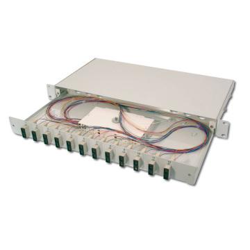Online-Shopping 12-Port-Schwarzfaser-Patch-Panel