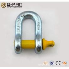 US de Type alliage acier vis broche ancre G210 Manille--chaîne Manille