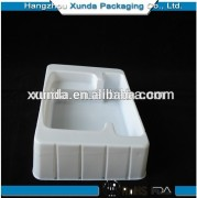 Hot sales high quality white plastic blister tray