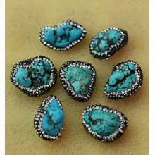 Fashion Natural Gemstone Turquoise Bead Jewelry Accessory