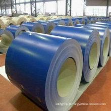 Yanbo melhor preço cor revestido de aço PPGI para telhado folha