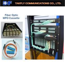 Fibra Óptica MPO Caja MPO Cassette