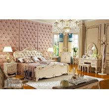 Novo design de mobiliário clássico de quarto real (HF-MG818)