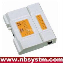 Testador de cabos para UTP STP RJ45, RJ11 RJ12