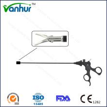 10 мм Лапароскопические инструменты Левые изогнутые ножницы с двойным действием