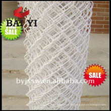 White Vinyl Coated Chain Link Fencing for sale