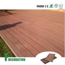 Wood Grain Timber Deck WPC China Wooden Flooring Building Material