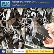 ISO9001 soldadura personalizada de acero fabraciones, cnc fabricaciones de mecanizado para rack de ruedas
