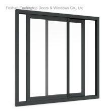 Fenêtre en verre coulissante de cadre en aluminium pour la construction (FT-W132)