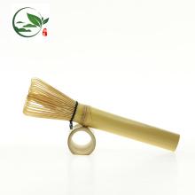 Fouet Matcha en Bambou Doré - Tige Longue (pour Matcha ou café)