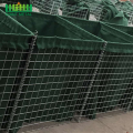 Safety+sand+filled+gabion+hesco+barriers+blast+wall