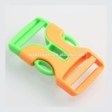 Yiwu fashion special plastic buckle bag fittings custom side release buckle