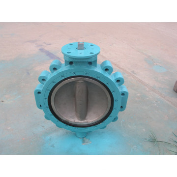 Double Offset Butterfly Valves with Handwheel